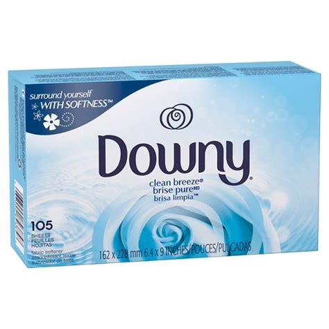 downy washer downy 174 clean fabric softener dryer sheet target