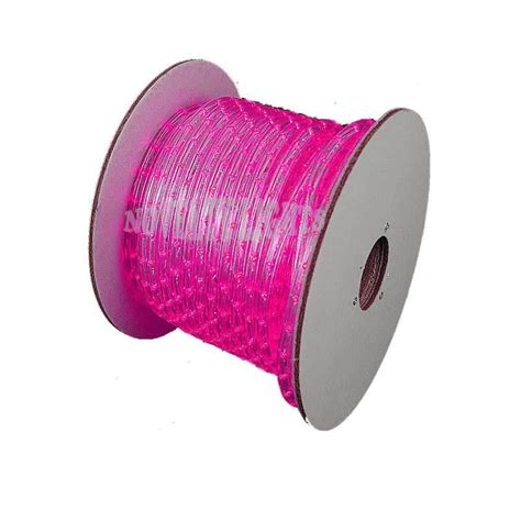 hop pink led rope lights150 foot spool led rope light 150 spools with free accessories