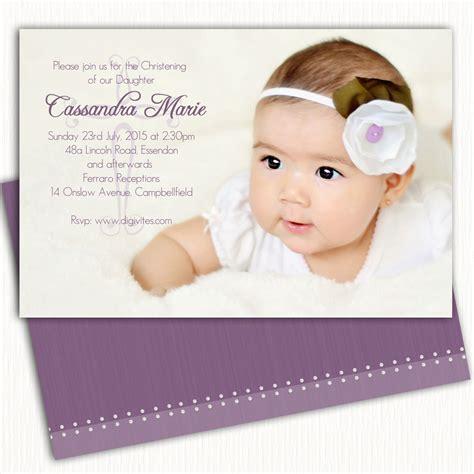 free layout for baptismal invitation girl photo christening invitation baptism invitation naming