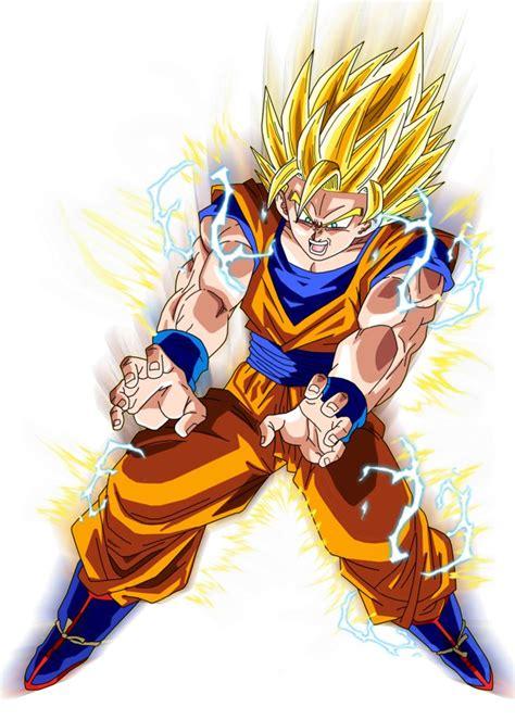 Pajangan Goku Saiyan 2 saiyan 2 goku aura by brusselthesaiyan goku and saiyan