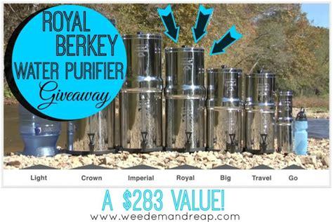 Berkey Giveaway - giveaway royal berkey water purifier 283 value weed em reap