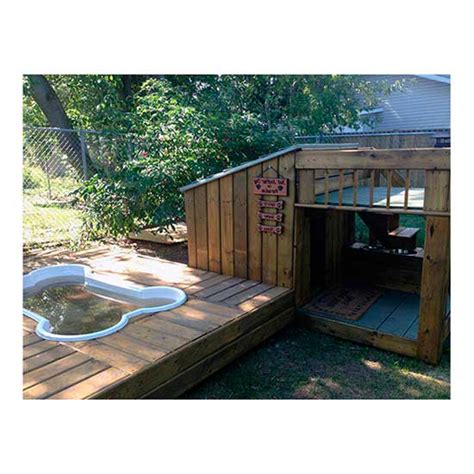 dog house with pool 10 dog houses that are better than your actual home