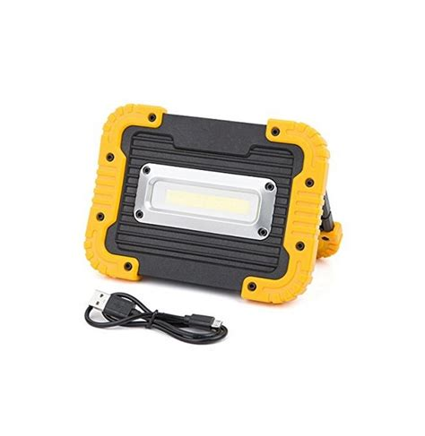 Lu Emergency Cob Led portable 10w cob led rechargeable cing lantern emergency work light for outdoor hiking fishing