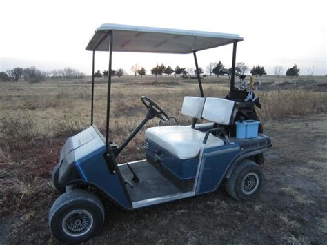 Golf Cart Shed by 1988 Ez Go Gas Powered Golf Cart Storage Shed Included