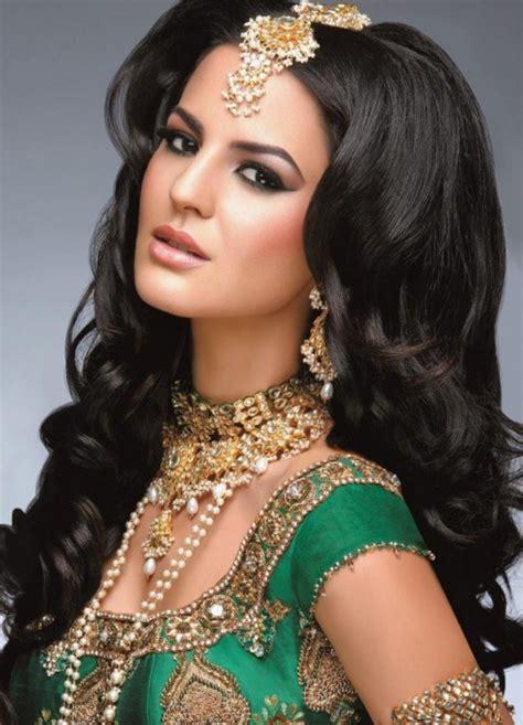 hairstyle hindi me peinados y maquillaje inspirados por la moda hind 250
