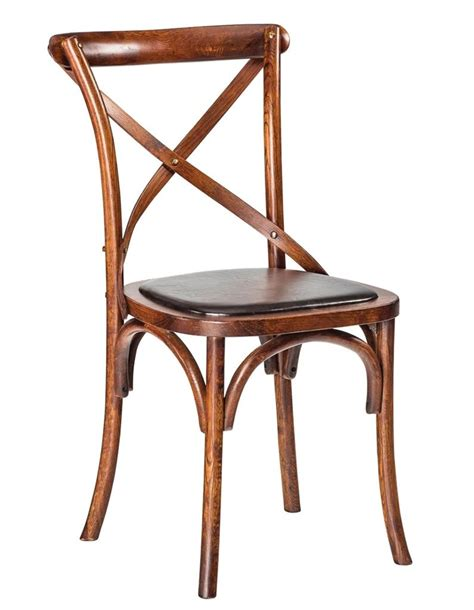 Cross Back Bistro Chair New Quot Zara Quot Rustic Bistro Style Timber Cross Back