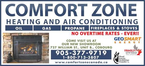 comfort heating and air conditioning comfort zone heating air conditioning cobourg on