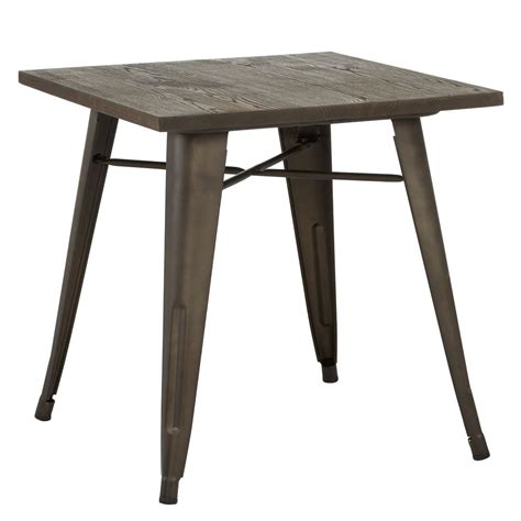 Modus Dining Table Nspire Modus Dining Table Gunmetal 201 939 Modern Furniture Canada