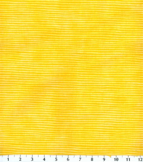 Bright Yellow Upholstery Fabric by Keepsake Calico Fabric Bright Yellow Small Stripe Jo