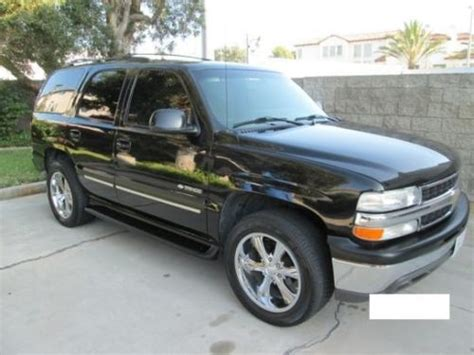how to sell used cars 2003 chevrolet tahoe seat position control sell used 2003 chevrolet tahoe in los angeles california united states for us 4 450 00