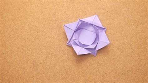Origami Lili - how to fold an origami water 5 steps with pictures