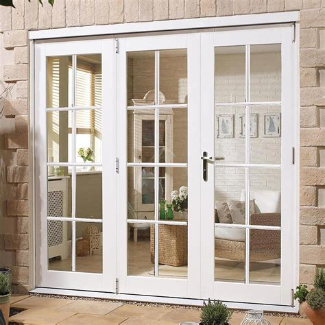 images of french doors nuvu white 8 pane exterior french doors with side frame