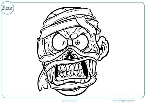 imagenes momias halloween dibujos de halloween para colorear mundo primaria