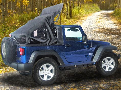 Mytop Offers Motorized Soft Top For Jeep Wranglers Off