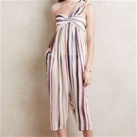 21268 Import Cotton Silk Gauze Blouse Black Striped Hedging shop anthropologie jumpsuit on wanelo