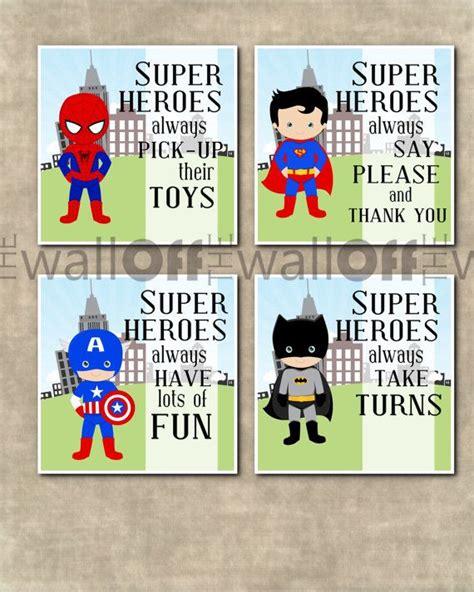 kinderzimmer junge superhelden junge superhelden spielzimmer kunstdrucke