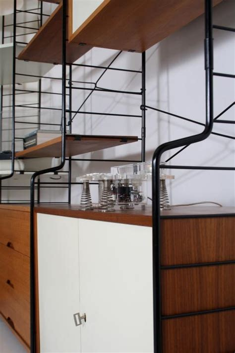etagere 70er 60er 70er whb string system regal teak shelving 233 tag 232 re