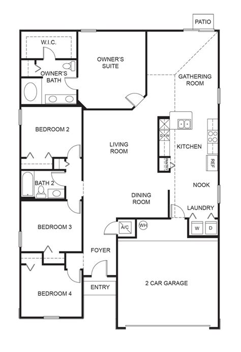 floor plan express dr horton express homes floor plans