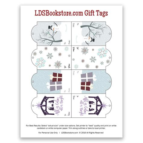 softflexgirl free printable winter holiday gift tags free printable lds christmas gift tags lds daily