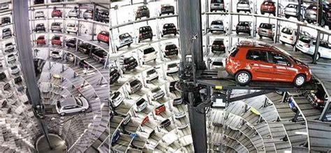 volkswagen garage vw s high tech parking garage