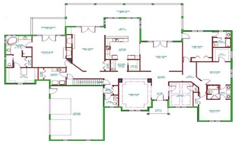 Split Level Ranch Floor Plans | split level ranch house interior split ranch house floor