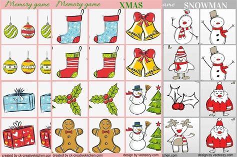 free printable christmas memory games christmas ornament and snowman memory game free