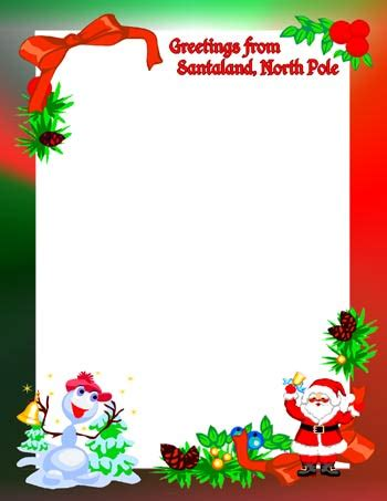 Similiar holiday north pole border keywords holiday north pole border gallery santa clipart letter pencil and in color santa clipart m4hsunfo