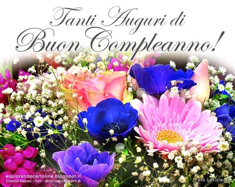 auguri con i fiori immagini gratis di buon compleanno