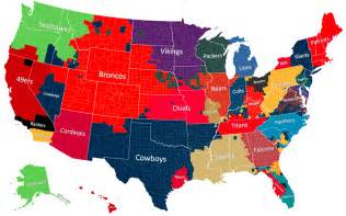 colors of us the geography of nfl fandom the atlantic
