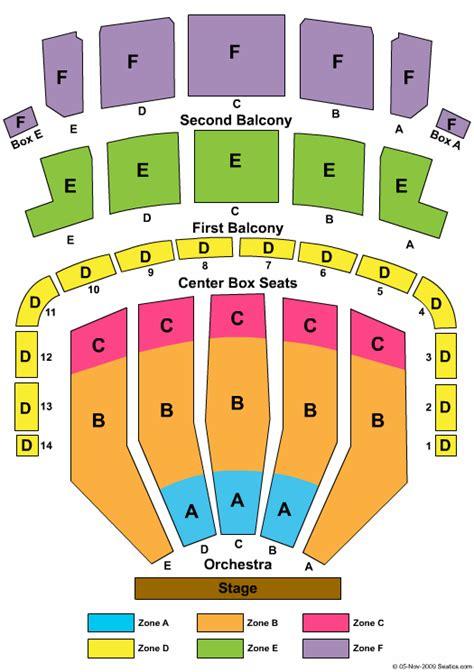 keller auditorium seat map tickets portland keller auditorium