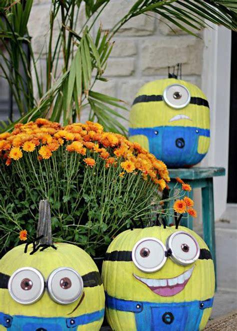 Minion Pumpkin Decorating by 25 Cool Diy Minion Pumpkins For Home Design