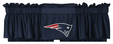 new england patriots curtains nfl new england patriots football locker room valance