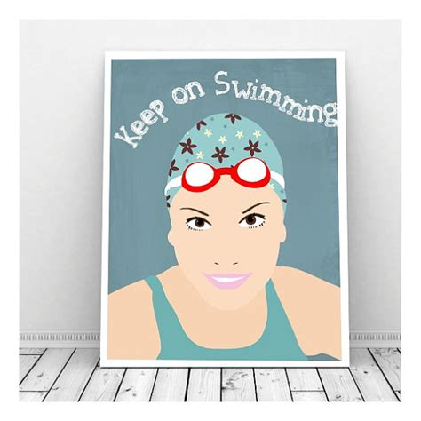 just keep swimming wall decor free print paper trail design just keep swimming art swimmer art swimmer gifts wall