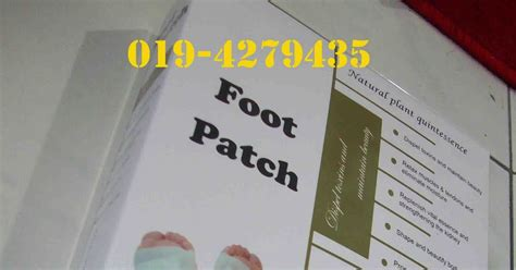 Grand Innovations Detox Foot Patch by Harga Bamboo Foot Patch Detox Blogsprogs