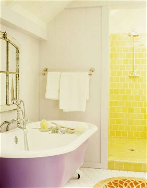 bright yellow bathroom 43 bright and colorful bathroom design ideas digsdigs