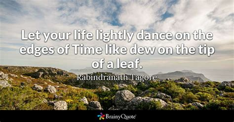 rabindranath tagore   life lightly dance   edges