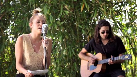 the backyard sessions miley cyrus miley cyrus the backyard sessions quot lilac wine quot youtube
