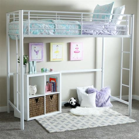 White Loft Bed by White Loft Beds For With Desk Loft Bed Deals