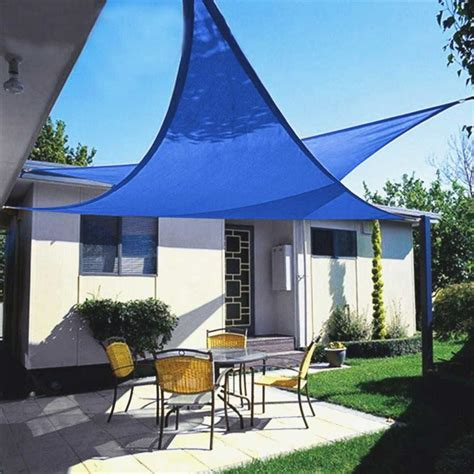 sail awnings for patio sail patio covers new quictent 12 18 20 ft triangle sun