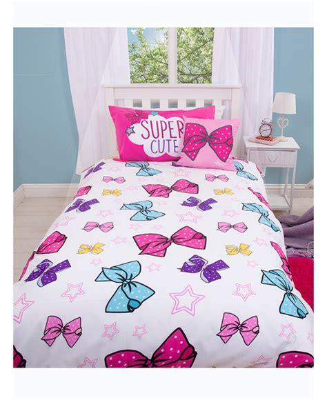 Pretty Wall Murals jojo siwa bedding jojo bows single duvet cover