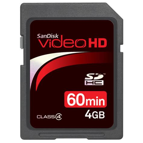 Memory Card Class 6 sandisk hd 4gb sd card class 6 15mb s memory cards sdsdhv4 vistek canada product detail