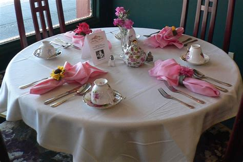 table settings ideas tea party table setting ideas