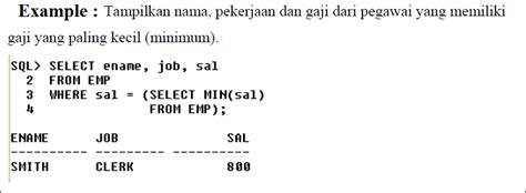 membuat subquery sub query dan indeks