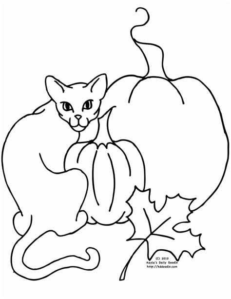 Black Cat Coloring Page Coloring Home Black Cat Coloring Pages