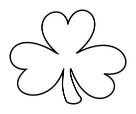 Shamrock Outline Clipart by Clipart Shamrock Outline