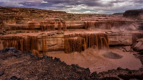 Grande Fall grand falls waterfall in arizona thousand wonders