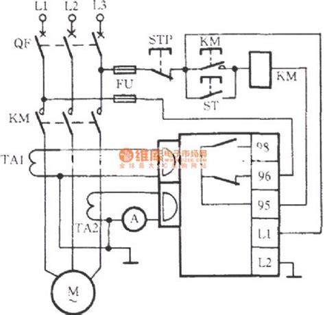 phase failure relay wiring diagram phase get free image