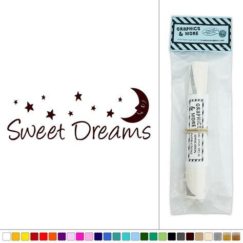 sweet dreams wall stickers sweet dreams vinyl sticker decal wall d 233 cor