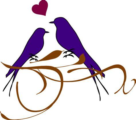 Wedding Designs Clip Png by Birds On A Branch Clip Vector Clip