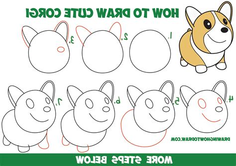 how to draw a doodle step by step easy animal to draw step by step how to draw kawaii
